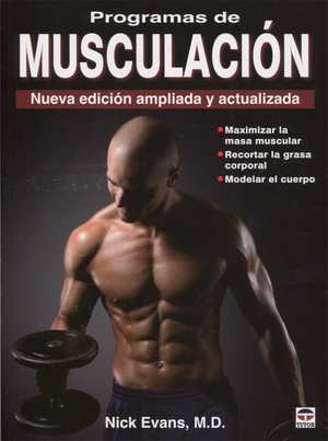 portada del libro programas de musculación