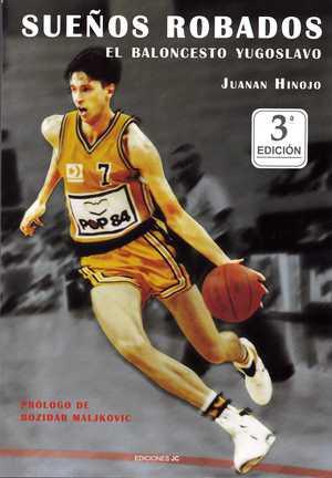 portada del libro sueños robados el baloncesto yugoslavo