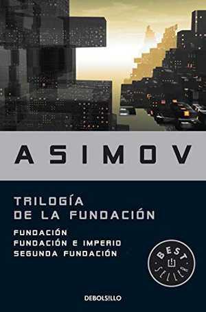 portada del libro trilogía de la fundación
