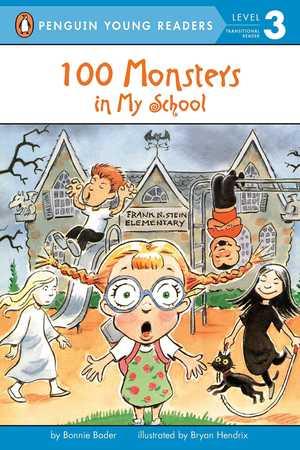 portada del libro 100 monsters in my school