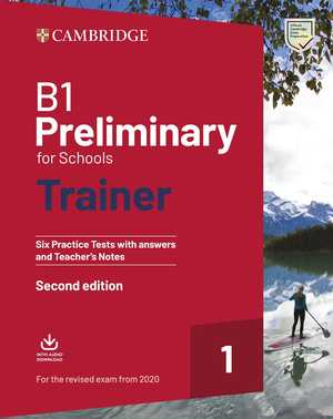 portada del libro B1 Preliminary