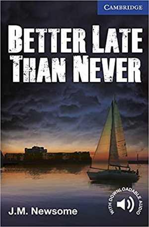 portada del libro Better Late Than Never