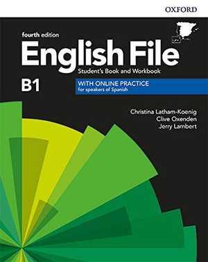 portada del libro English File B1