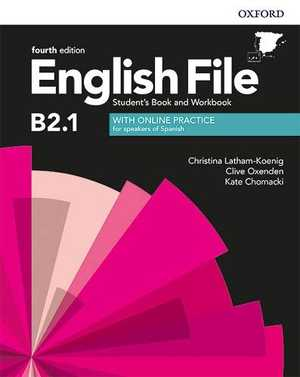 portada del libro English File B2