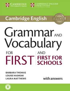portada del libro Grammar and Vocabulary for First