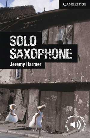 portada del libro Solo Saxophone