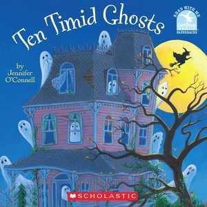 portada del libro Ten timid ghosts