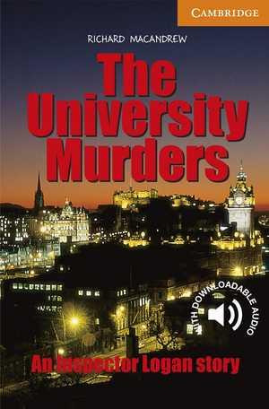 portada del libro The University Murders
