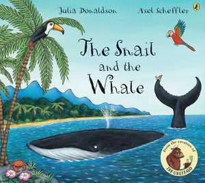 portada del libro The snail & the whale
