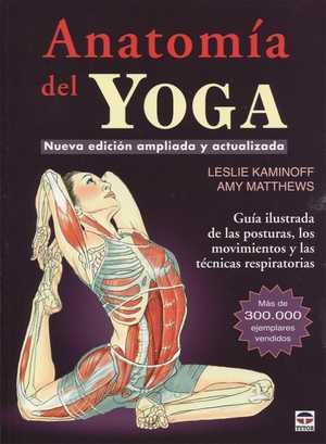portada del libro anatomía del yoga