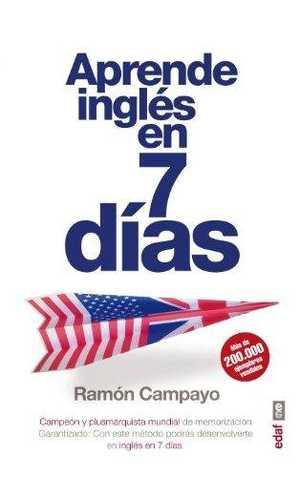 portada del libro aprende ingles en siete días