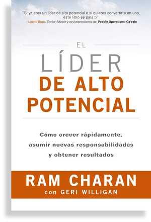portada del libro el líder de alto potencial