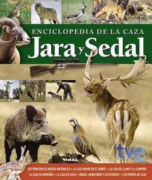 portada del libro enciclopedia de la caza