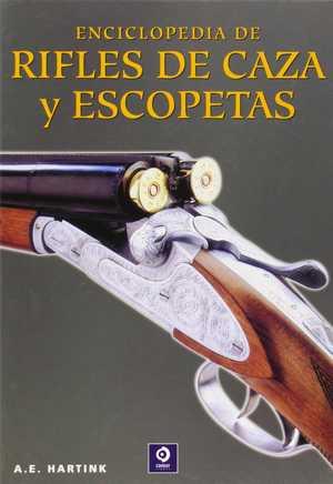 portada del libro enciclopedia de rifles de caza y escopetas