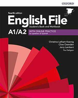 portada del libro english file A1-A2