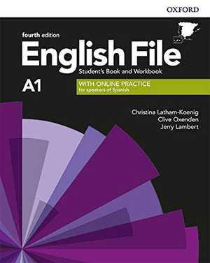 portada del libro english file A1
