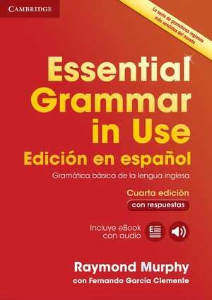 portada del libro essential grammar in use