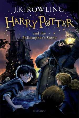 portada del libro harry potter and the philosopher´s stone