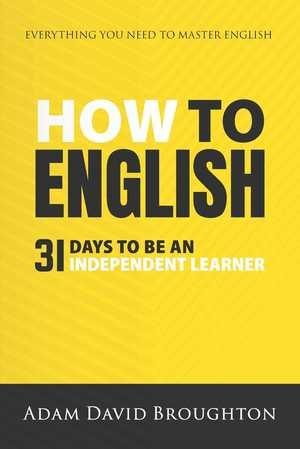 portada del libro how to english