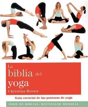 portada del libro la biblia del yoga