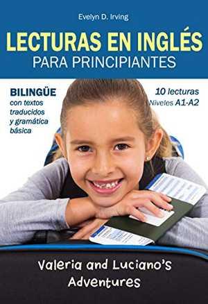 portada del libro lecturas en inglés para principiantes