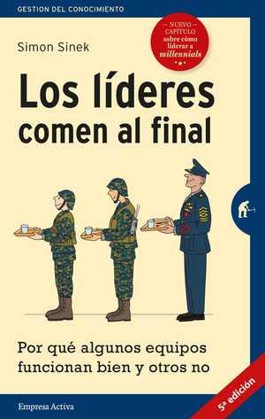 portada del libro los líderes comen al final
