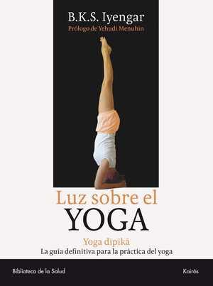 portada del libro luz sobre el yoga