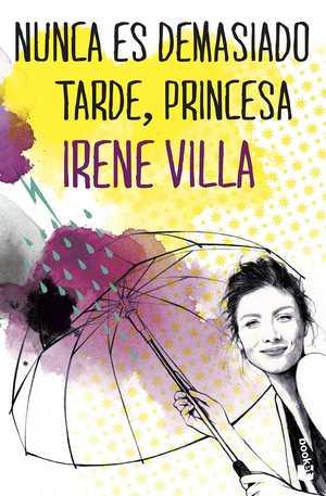 portada del libro nunca es demasiado tarde princesa