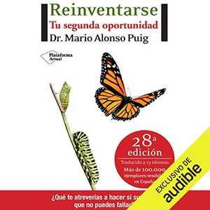 portada del libro reinventarse tu segunda oportunidad