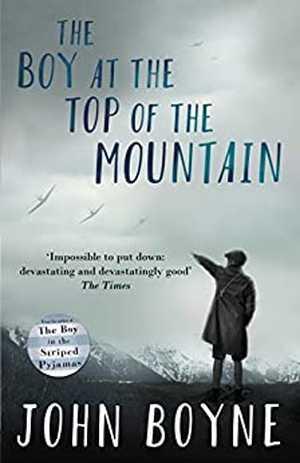portada del libro the boy at the top of the mountain