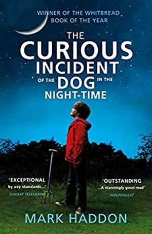 portada del libro the curious incident of the dog in the night-time