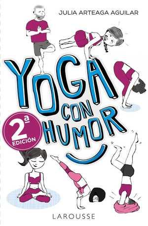 portada del libro yoga con humor