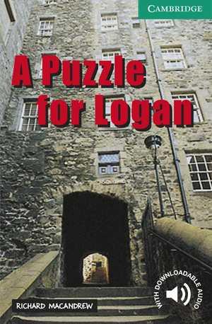 portada del libro a puzzle for logan