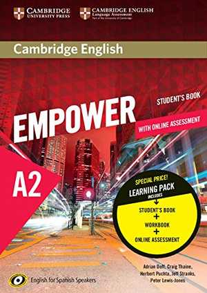 portada del libro empower A2