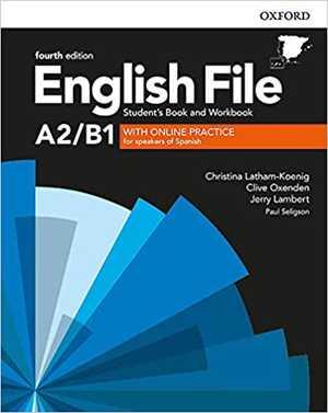 portada del libro english file a2/b1