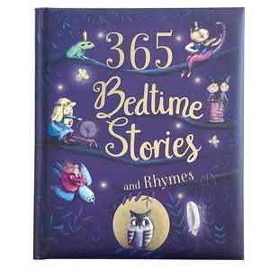 portada del libro 365 bedtime stories and rhymes