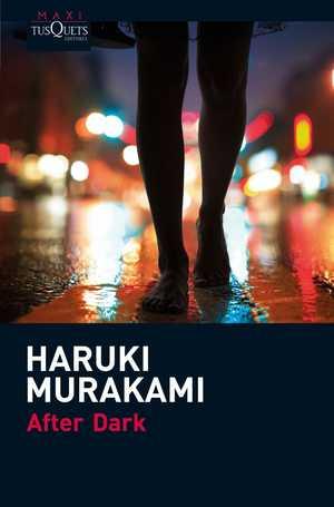portada del libro after dark