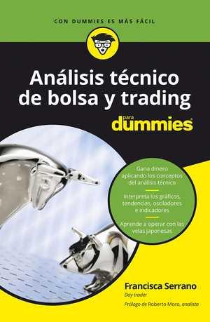 portada del libro análisis técnico de bolsa y trading para dummies