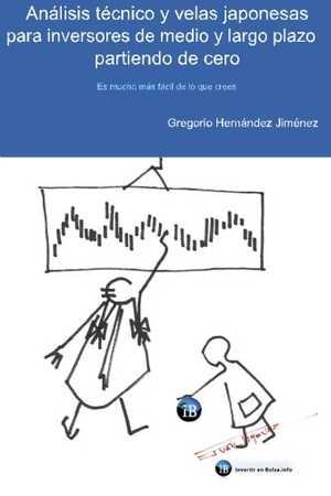 portada del libro análisis técnico y velas japonesas para inversores