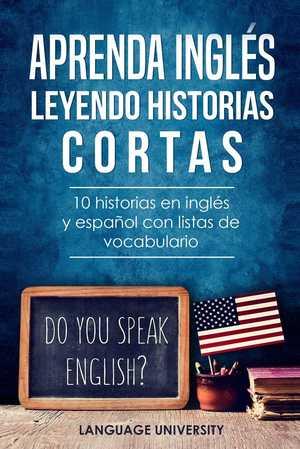 portada del libro aprenda inglés leyendo historias cortas