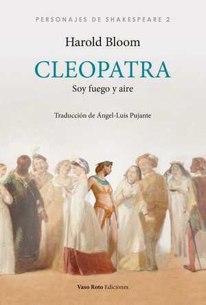portada del libro cleopatra: soy fuego y aire