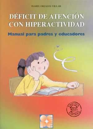portada del libro trastorno por deficit de atención con hiperactividad