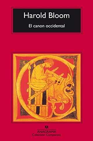 portada del libro el canon occidental