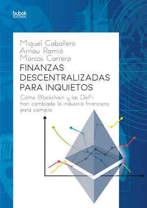 portada del libro finanzas descentralizadas para inquietos