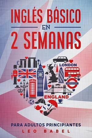 portada del libro inglés básico en 2 semanas