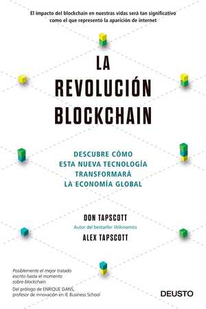 portada del libro la revolución blockchain