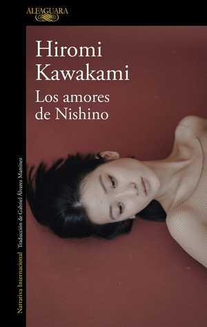 portada del libro los amores de nishino