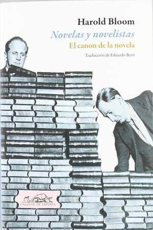 portada del libro novelas y novelistas