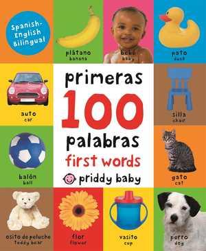 portada del libro primeras 100 palabras