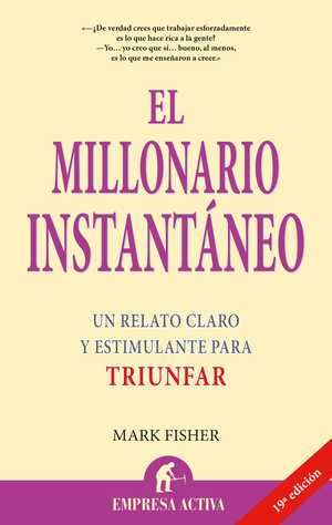portada del libro el millonario instantáneo